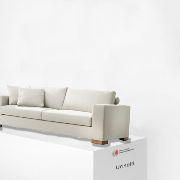 Un sofá